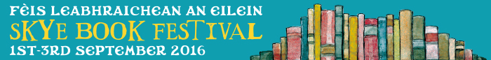 Skye Book Festival 2016